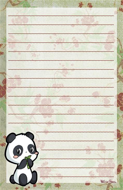 printable panda stationery panda stationery by melissah84 on deviantart