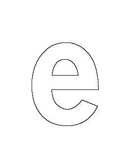 lowercase letter  pattern lettering alphabet templates
