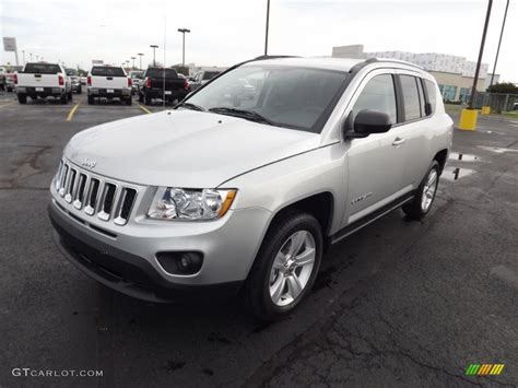 silver jeep compass 2013 bright silver metallic jeep compass latitude