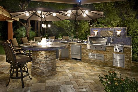 Outdoor Bbq Kitchen Designs Outdoor Kitchen Idea Gallery Galaxy Outdoor