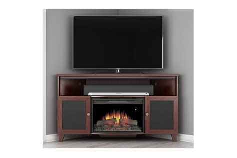 Single Shelf Tv Stand by Furniture Wonderful Ideas Corner Electric Fireplace Tv