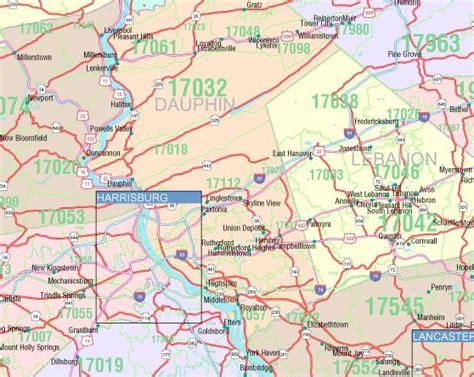 zip code map western pa pennsylvania zip codes map free