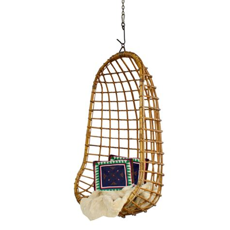 Hanging Pod Chair by Rattan Hanging Pod Chair