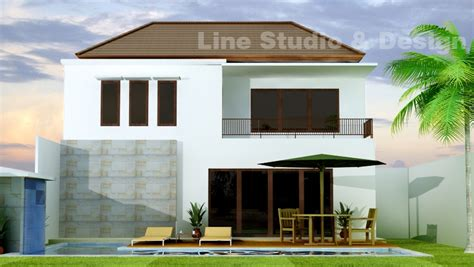 desain rumah villa desain rumah tinggal dengan nuansa villa line studio