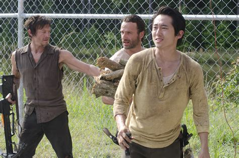 The Walking Dead Iii the walking dead season 3 glenn rick and daryl tim s