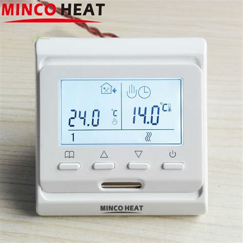 220v heater thermostat buy 16a electric floor heating room manual thermostat warm