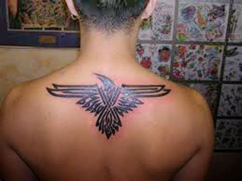 upper back tattoos for men tribal tribal upperback for