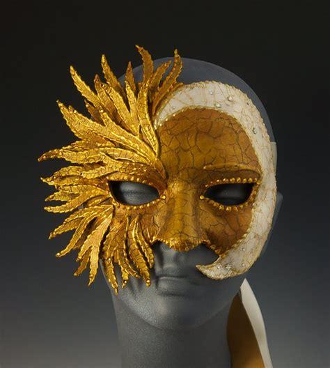 Moon Mask sun moon half mask