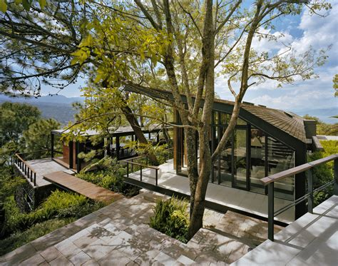 forest house solitary house in the woods by parque humano home reviews