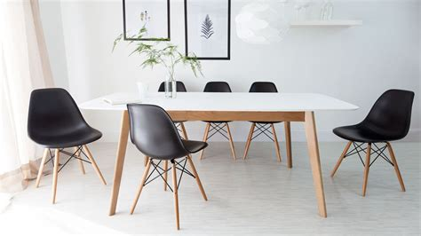Living Room And Dining Room Together by Eames Dining Chair High Quality Uk Fast Delivery