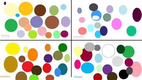 color season seasons color analysis
