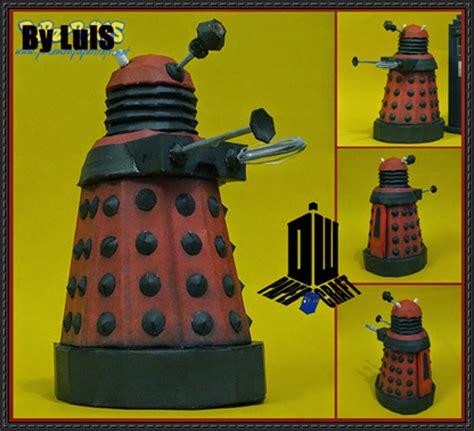 Papercraft Dalek - doctor who dalek ver 5 free papercraft