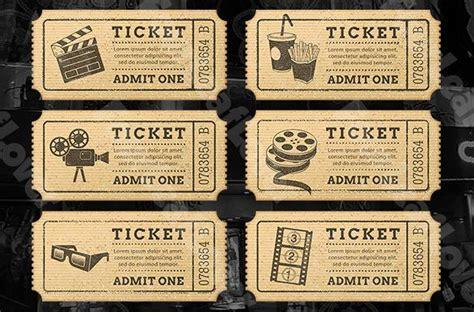 ticket templates download free premium templates