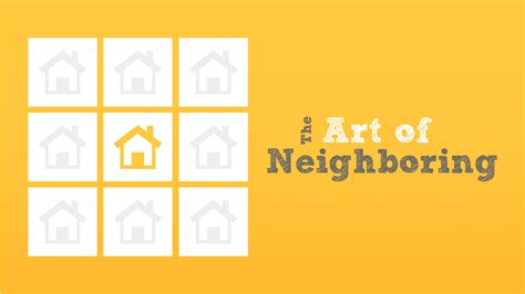 the art of the the art of neighboring northshore community church