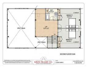 Barn Loft Plans Barn House Plans With Loft Second Floor Plan House