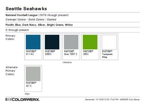seahawk colors colorwerx s image seahwaks color scheme color seahawks