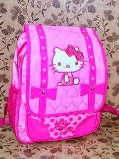New Tas Sekolah Anak Tk Import Hello 6 Dimensi Lu Menyala tas sekolah anak perempuan murah tk sd grosir tas travel bag anak karakter hello murah