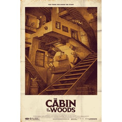 Cabin In The Woods Plot by Alternative Poster For The Cabin In The Woods By