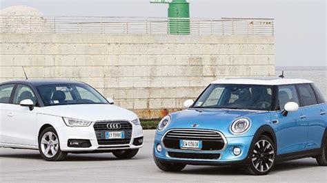 auto 5 porte audi a1 sportback vs mini 5 porte auto it