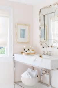Pale Pink Bathroom Accessories Interior Design Inspiration Photos By Alyssa Rosenheck
