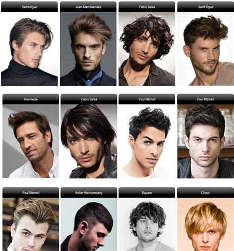 hair and head types mens hair styles men s hairstyle pinterest different