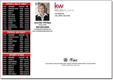 Real Estate Postcards, Keller Williams Postcards