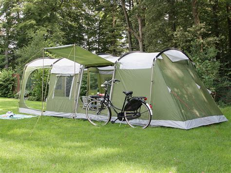 Frame Tenda Fiber 6 9 Mm skandika saturn 4 person family tunnel tent sewn in