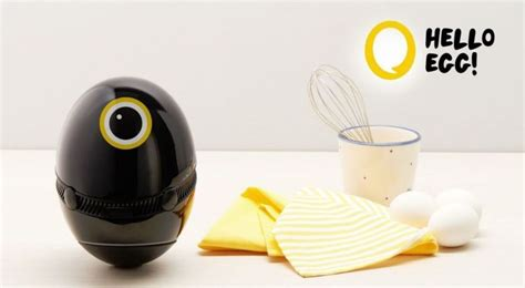 design house rnd64 hello egg is a cute ai enabled cooking assistant