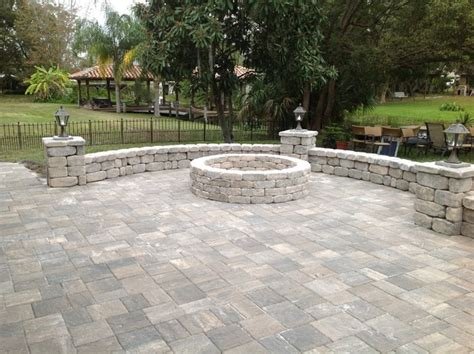 pavers in backyard backyard makeovers traditional patio orlando by a