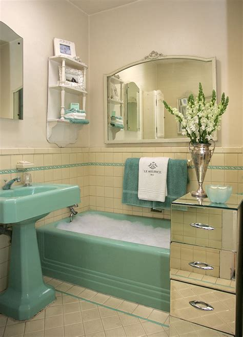bathrooms green button homes retro green bathroom tile ideas and pictures apinfectologia