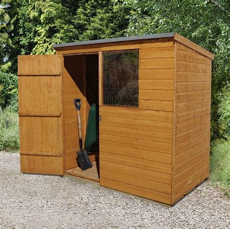 Shed 6 X 4 by Hartwood 6 X 4 Fsc Pent Shed What Shed