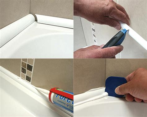 how to use bathroom sealant bathseal ultra 10 for rectangular baths bath seals