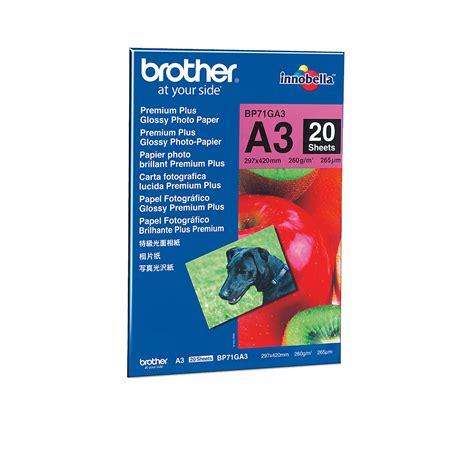 Drucken Online A3 by Bp 71ga3 Fotopapier A3 20 Blatt Online Kaufen Brother