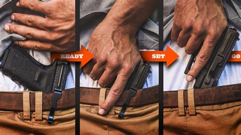 nra  gear clipdraw review concealed carry holsters alternative clipdraw