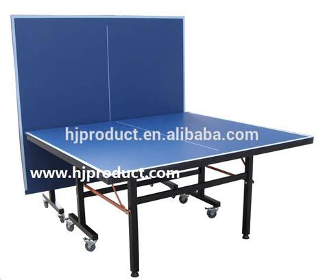 Meja Tenis Meja Pingpong lipat bergerak mudah toko ukuran standar tenis meja tenis