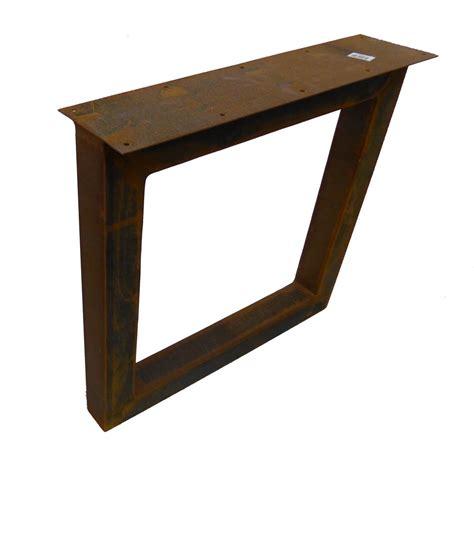 tafel onderstel staal tafel onderstel corten staal 8 x 70 x 75 cm set van 2