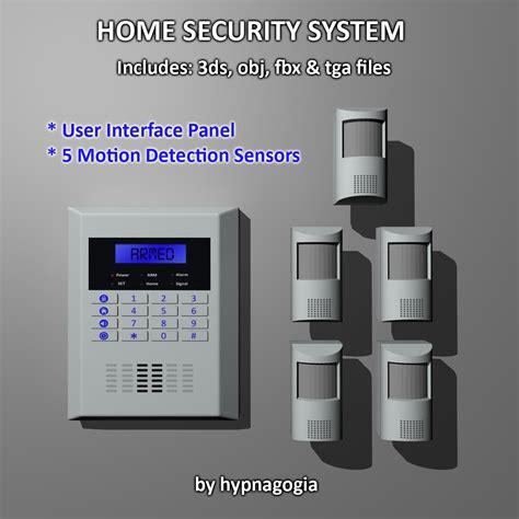 home security system 3d model sharecg