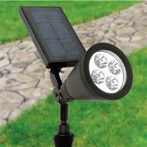 outdoor spot light outdoor solar powered spot lights 4 led garden waterproof