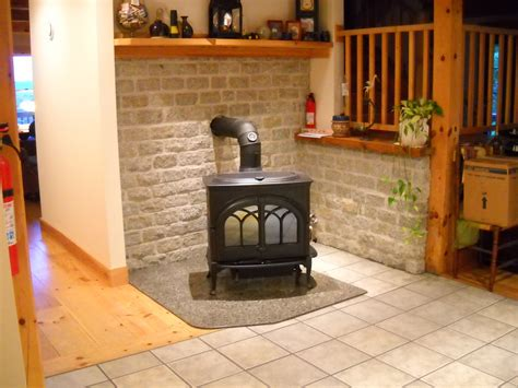 Jotul Wood Stove on Hearth Pad   View more fireplace, wood