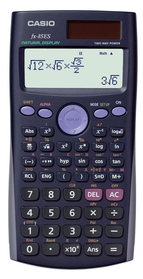 Casio Kalkulator Calculator Casio Fx Fx 50f Ii Fx 50f Ii how would i enter 1 2 into a scientific calculator