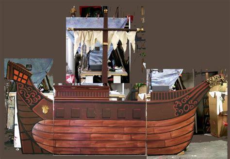 pirate ship facade    event magic party