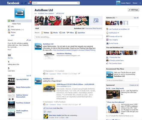 facebook celebrity page setup autobase facebook business pages tips