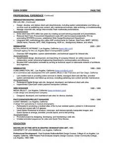 work from home resume exles resume template