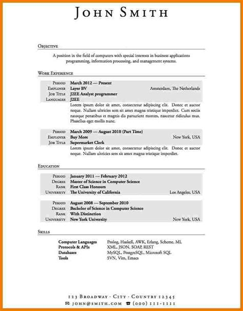 Resume Examples For Jobs With No Experience by 7 Job Resume Examples No Experience Assistant Cover Letter