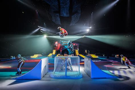 swing clubs vancouver cirque du soleil s crystal ice production coming to
