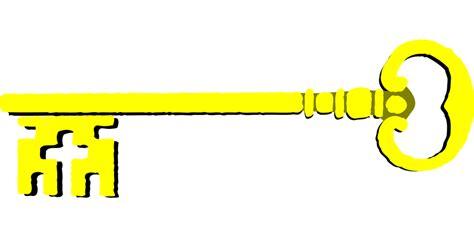 Gantungan Kunci Anjing Key Chain Chowchow free vector graphic key golden gold metal open free image on pixabay 35709