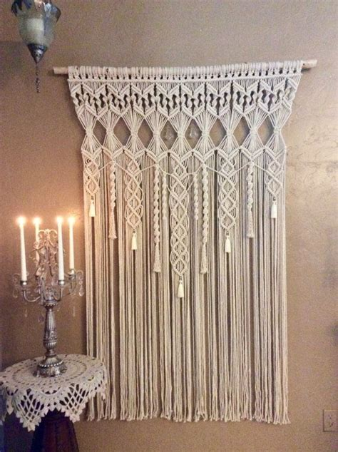 Macrame Wall Hanging Designs - 25 best ideas about macrame wall hangings on