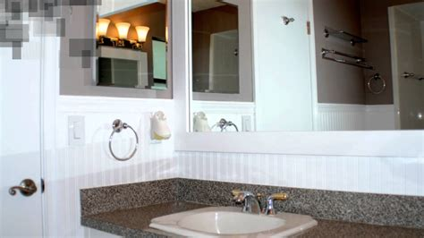 how to install beadboard in bathroom how to install beadboard in a bathroom youtube