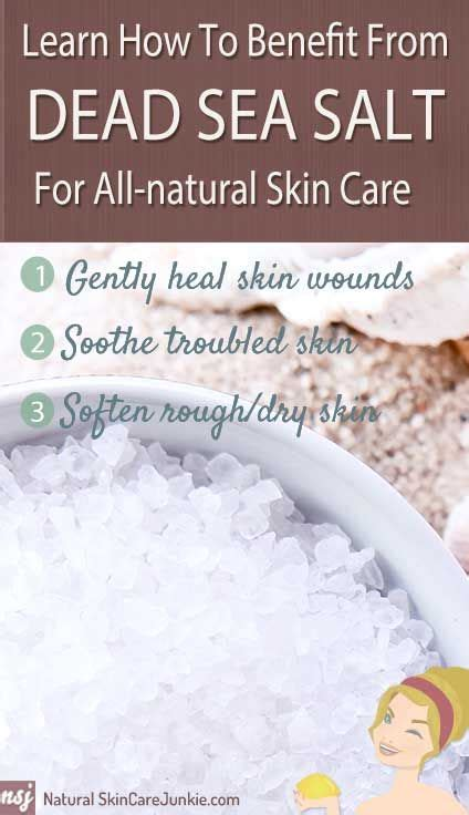 sea salt l benefits the benefits of dead sea salt for skin care how to use