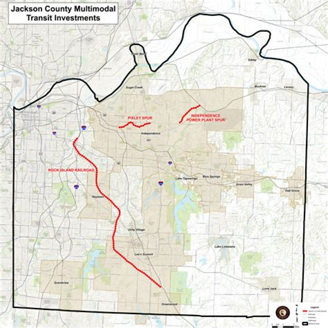 jackson county colorado map another push for rail transit in kansas city show me